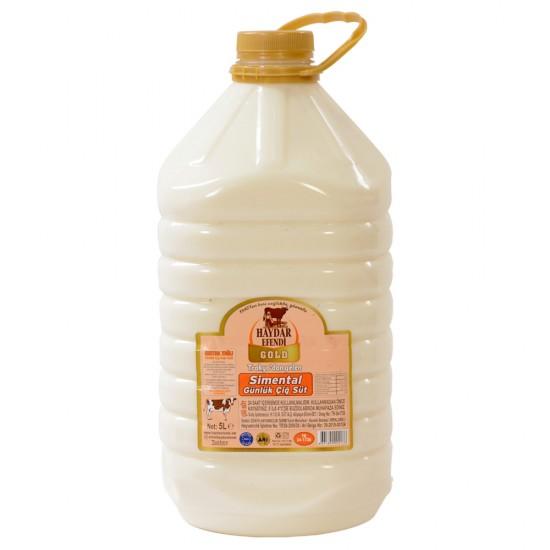 Haydar Efendi Gold Süt 5 Litre - Çiğ Süt